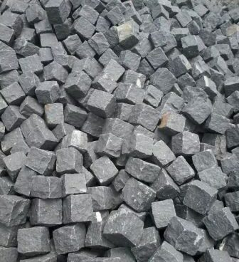 Black Granite Cobbles